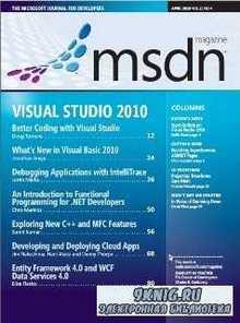 MSDN (April 2010) Vol 25 No 4