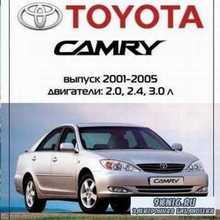 Мультимедийное руководство  Toyota Camry 2001-2005