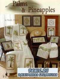Jeanette Crews Designs #1235 - Palms & Pineapples