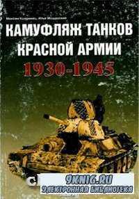 Камуфляж танков Красной Армии 1930-1945 года.