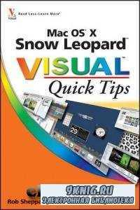 Mac OS X Snow Leopard Visual Quick Tips.