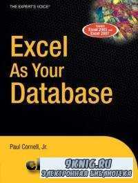 Excel as Your Database.