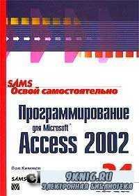 Освой самостоятельно программирование для Microsoft Access 2002 за 24 часа.