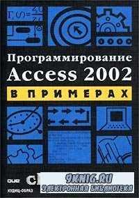 Программирование Access 2002 в примерах.