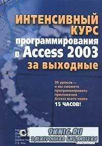 Интенсивный курс программирования в Access 2003 за выходные.