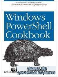 Windows PowerShell Cookbook.