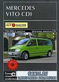 Mercedes Vito CDI выпуска 1998-2004 гг. Руководство по эксплуатации, технич ...