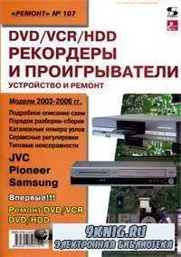 DVD/VCR/HDD рекордеры и проигрыватели. Устройство и ремонт.