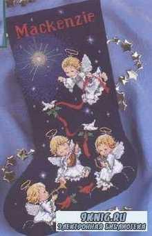 Вышивка крестом. Коллекция схем. Рождественские носки