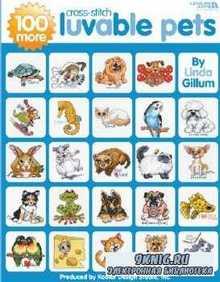 Leisure Arts - 100 More Luvable Cross Stitch Pets