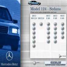 Сервисная документация для Mercedes-Benz модели W124