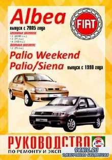 Гусь С.В. - Fiat Albea, Palio Weekend, Palio, Siena. Руководство по ремонту ...