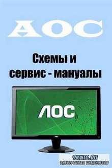 LCD мониторы AOC. Схемы и сервис - мануалы