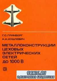 Металлоконструкции цеховых электрических сетей до 1000 В