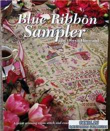 Blue Ribbon Sampler by Olwyn Horwood