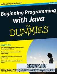 Beginning Programming with Java For Dummies (3 edition)