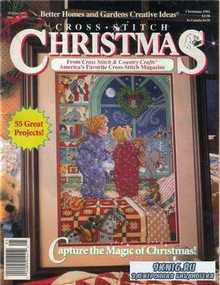 Cross Stitch Christmas, Capture the Magic of Christmas (Better Homes and Ga ...