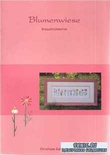 Blumenwiese: Kreuzstichmotive