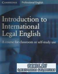 CD for Introduction to International Legal English
