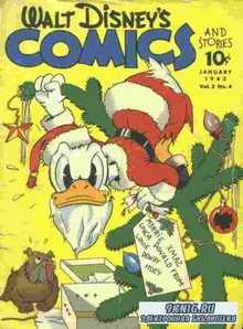 . Walt Disney's Comics and Stories №4 1942.