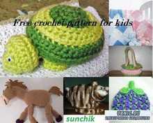 Free crochet pattern for kids