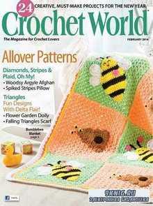 Crochet World February 2014