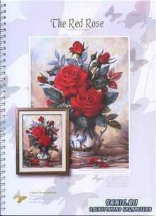 I love cross stitch The Red Rose AW - 011