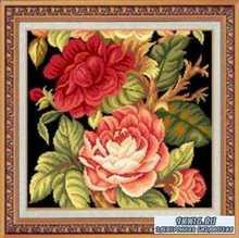 Meishhijie Needlepoint Camellia
