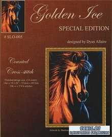 Схема вышивки Golden Ice SLO-005