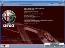 Электронная техническая документация ALFA ROMEO 147