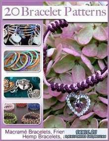 20 Bracelet Patterns Macram Bracelets Friendship Bracelets Hemp Bracelets