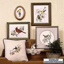 Схемы для вышивки Сrossed Wing Collection