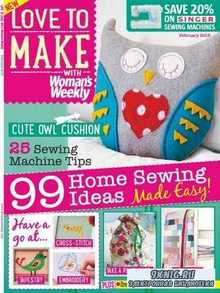 Love to make with Woman's Weekly  (February 2015)