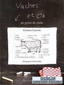 Vaches et Cie: au point de croix