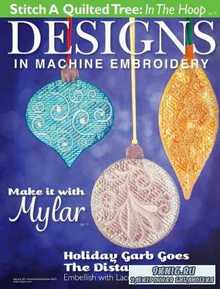 Designs in Machine Embroidery - November/December 2015