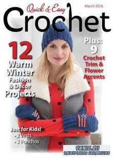 Quick & Easy Crochet - March 2016