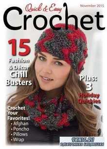 Quick & Easy Crochet - Fall 2015