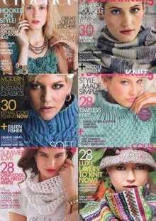 Vogue Knitting - 2014 (6 номеров)