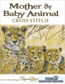 Mother and Baby Animals Cross Stitch