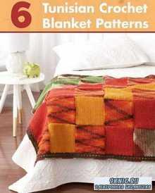 6 Tunisian Crochet Blanket Patterns