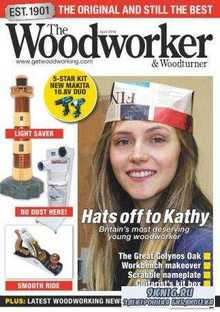 The Woodworker & Woodturner №4  (апрель /  2016)