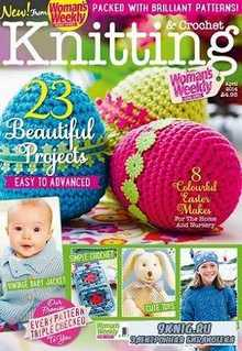 Woman's Weekly Knitting & Crochet №4 2014 April