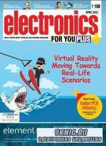 Electronics For You №4  (апрель /  2017)
