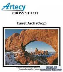 Artecy Cross Stitch - Turret Arch (Crop)