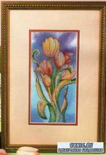 Вышивка крестом. Коллекция схем -  Тюльпаны
