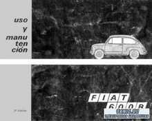 Fiat 600R Seicento. Service Manual