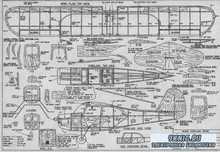 Учебно-тренировочные чертежи авиамоделей