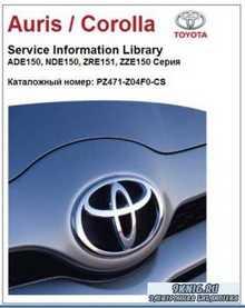 Toyota Auris, Corolla 2007 SIL. Руководство по ремонту