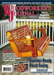 Woodworker's Journal   (June /  2017)