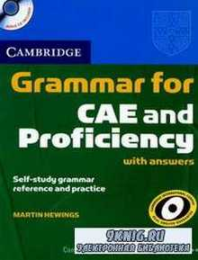 Martin Hewings - Cambridge Grammar for CAE and Proficiency with answers and Audio CD's